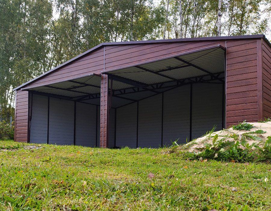 Garaż blaszany w ogrodzie – dla kogo?
