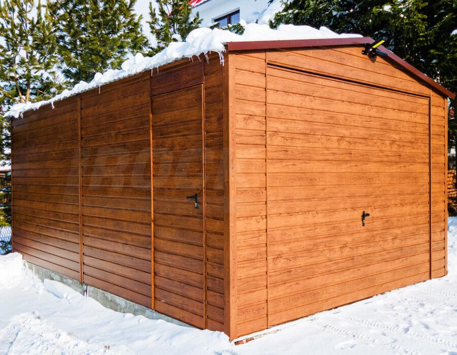 """Garaże drewnopodobne? Czy tylko w kolorze """"orzech""""?"""